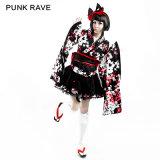 Pyon Pyon Sweet Maid Kimono Lolita Dress (LQ-001)