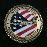 Custom USA Military Plane Metal Challenge Coins
