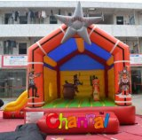 Kids Inflatable Star Bounce Castle for Sale (CHB268)