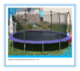 15f-5 Round Trampoline Fit in Yard for Family Fun