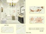 Bedroom Kitchen Beige Wall Ceramic Tile Border Ly65928