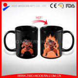 Hot Sell Heat Sensitive Magic Mug, Color Changing Mug for Promotion Gift