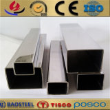 China Welded 316ti 310S Stainless Steel Square Pipe Manufacture