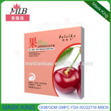 Nature Cherry Skin Repair /Soften Fruit Fiber Silk Facial Mask