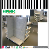 Steel Four Sided Small Supermarket Gondola Shelving