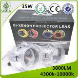 LED Car Light Bi-Xenon Auto Projector Lens Light
