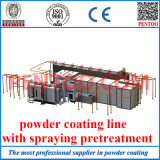 Automatic Electrostatic Powder Spray Line with High Performance