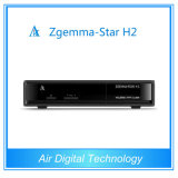 FTA DVB-T2 HD Satellite TV Receiver Zgemma-Star H2 DVB-S2 with Hrbrid DVB-T2 Tuner Digital TV Receiver