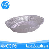 Full Size Recycling Picnic & Party Oval Foil Tray for Packing