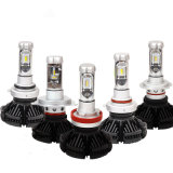 Winpartners X3 H1 H3 H4 H7 H8 H11 9005 9006 H13 Car LED Headlights Bulbs 50W 6000lm Chips All in One Csp LED Headlamp 3000K 6000K 8000K