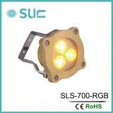 IP68 RGB Pool Lighting, RGB Swimming Pool LED Underwater Lamp (Slw-07b)