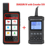 Launch X431 Diagun IV X431 IV Support WiFi Bluetooth Diagnostic Tool with Creader 519 Cr519 OBD2 Code Reader Read Vehicle Information