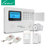 LCD Screen Wireless Home Security Alarm System with GSM PSTN