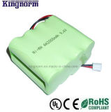 Low Self-Dischage AA2000 9.6V Nickel Metal Hydride Battery Pack