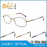 Latest Design Titanium Optical Glasses for Woman (9303)