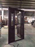 Exterior Wood Grain Painting Aluminum Door