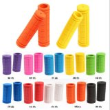 10 Colors Bicycle Grips Bike Accessories Non-Slip Soft PE Silicon Rubber Bicycle Handle Grip Riding Cycling Handlebar Grip