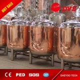 500L Bright Beer Tank with Copper out Skin