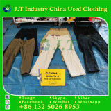 Used Clothing Men Cotton Pants in Poland