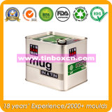 Metal Food Packaging Box, Tin Box, Gift Tin Container