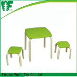 Children Wooden Furniture Kids Round Table and Chairs