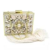 New Arrival Fashion Bead Sequins Evening Clutch Handbags for Ladies Eb714