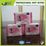 Antiseptic Soft Feminine Wet Wipe From China