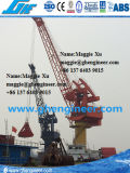 30t30m Electric Wire Ropes Pedestal Onshore Jetty Harbour Crane