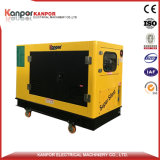 New Product with Four Wheels Under Canopy 8kw-18kw Silent Generator