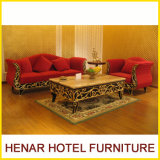 Wedding Couch Sofa Set/Wooden Living Room Furniture