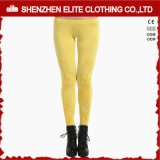 Popular Fashion Trendy Yellow Women Fitness Yoga Pants Leggings (ELTFLI-39)