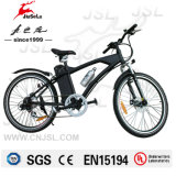 Black 250W Brushless Motor 36V Mountain Electric Bicycle (JSL037A-1)