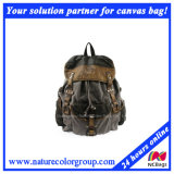 Fashion Leisure Retro Washed Canvas Backpack for Campus