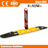 with Plastic Delineator Panel Rubber Traffic Safety Lane Separator