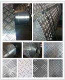 Aluminium/Aluminio/Alumina Checker Plate/Aluminium Tread Plate 5 Bar