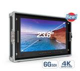 "23.8"" 4k Broadcast Director Monitor with 6g-Sdi, HDMI/VGA/DVI Inputs"