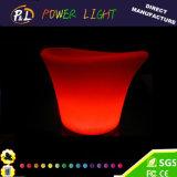 LED Furniture RGB Color Changing Plastic Square LED Wine Bucket