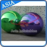 Custom Made Inflatable Purple Mirror Balloon for Advertising Decoration