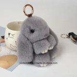 Superior Quality Safety Plush Stuffed Key Chain Rabbit