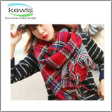 Wholesale Lady Knitted Scarf Cashmere Wool Scarf
