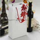 Double Loaded Translucent Gold Grape Red Wine Handbag Gift Bag