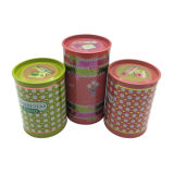 Round Shape Tin Can Perfume Tin Container Tin Box Wholesale