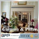 White Marble C Columns Interior Columns