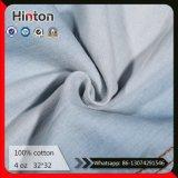 Hot Sale 100% Cotton Denim Fabric Light Blue Jean Shirt Fabric