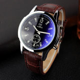 295 Hot Sell Real Small Dial Analog Watches Black White Men Watch