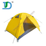 2-3 Person Waterproof Family Yellow Outdoor Camping Tent