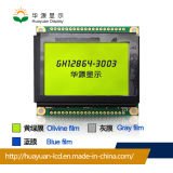 "Stn 3.3V Voltage Graphic 3"" 128X64 Graphic LCD Module"