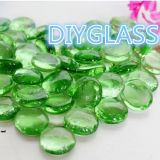 Green Round Crystal Pebble Stone