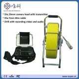 Factory Price 8 Inch Monitor, Self-Levelling Camera Head, 15 High Light LEDs, Sewer Pipeline Inspection Camera