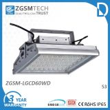 60W IP65 Waterproof LED Industrial Light with 3 Years Warranty